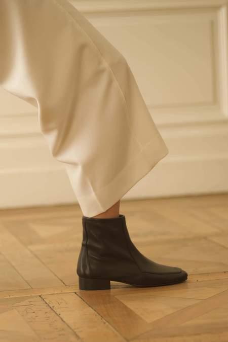 ANNE THOMAS Léo Nappa Boots - Black
