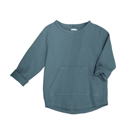 Kids Nico Nico Paz Quilted Pullover - Storm