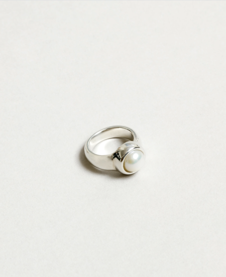 Wolf Circus Magda Pearl Ring - Sterling Silver