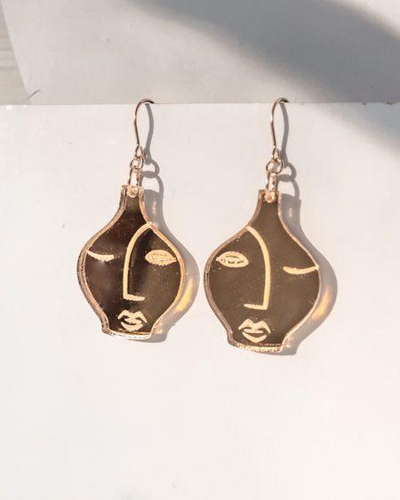 Fool's Gold amboise earrings