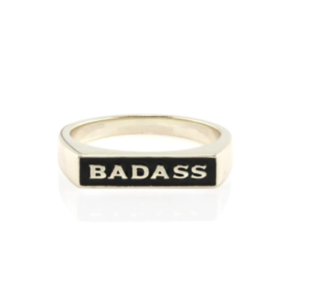 Kris Nations Bad Ass Ring - Sterling Silver
