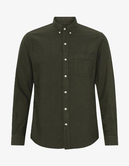 Colorful Standard Organic Button Down Shirt - Hunter Green