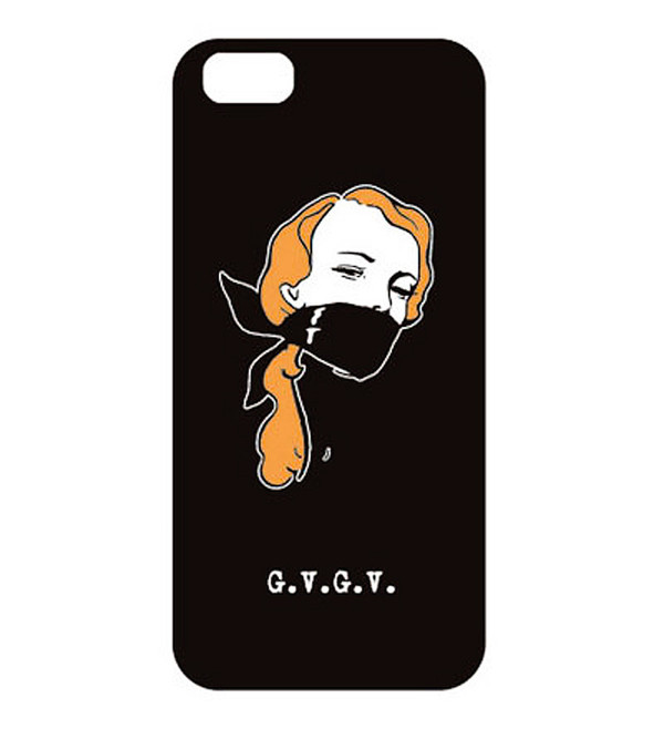 "G.V.G.V. ""Mouth"" iPhone 4 Case"