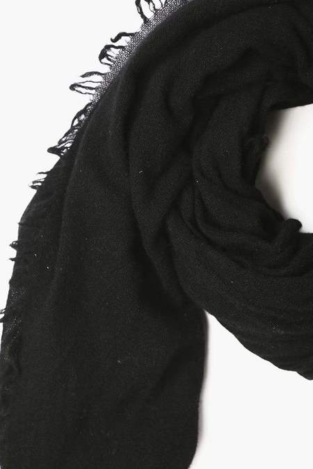 Chan Luu 100% Cashmere Scarf - Black