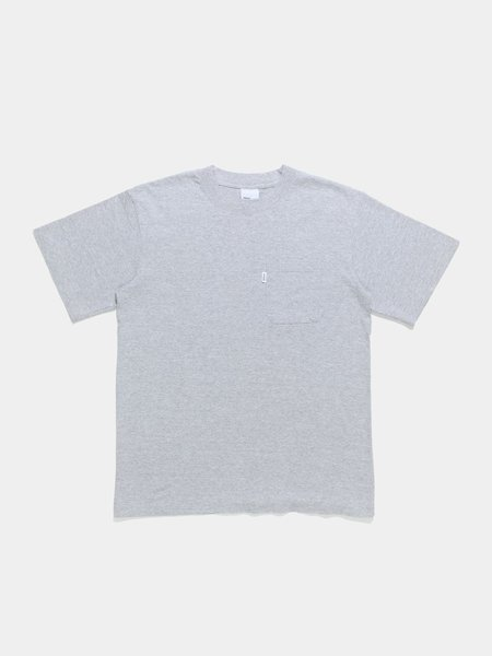 Adsum Pocket Tee - Bleached Heather Grey