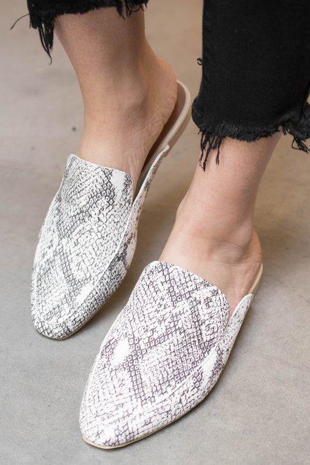 Dolce Vita Halee Loafer Flats - Snake Print