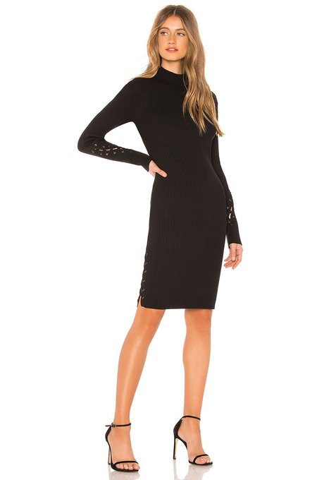 John+Jenn Miller Sweater Dress - Black