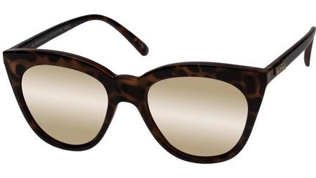 Le Specs Halfmoon Magic Glasses - Milky Tort