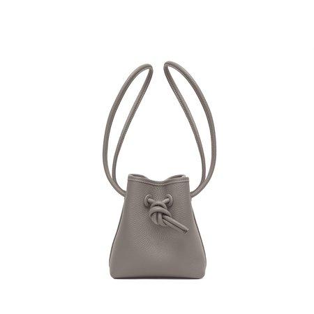 Vasic Bond Mini Mini Leather Bucket Bag - Ash