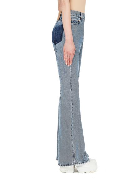 Vetements Blue Flare Jeans