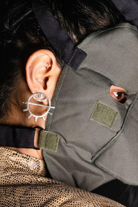 PAR ICI Jewellery Medium Eye Earring