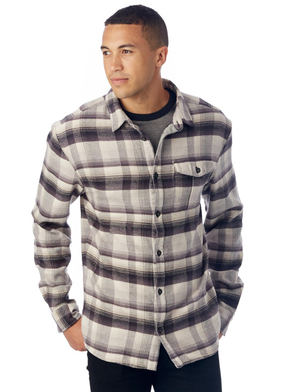 Men's Alternative Apparel Logger Shirt Jacket