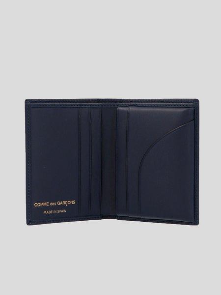 Comme des Garçons Arecalf wallet - Navy