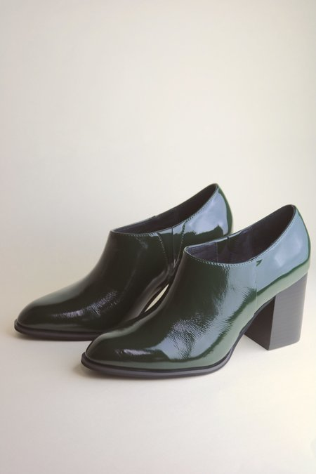 """""""INTENTIONALLY __________."""" NADIA Shoes - Forest Patent"""