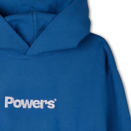 Powers Logo Pullover Hoodie - Blue