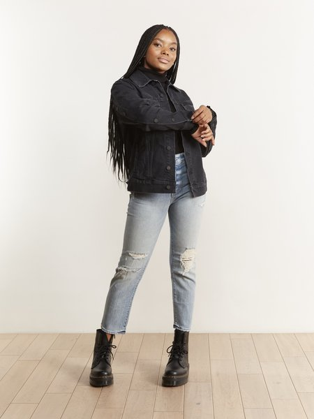 Mother Denim The Buttoned Up Drifter Jacket - Who's Sorry Now