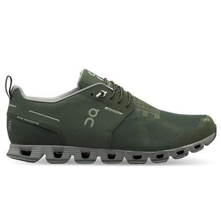 ON Running Cloud Waterproof Sneaker - Forest / Lunar