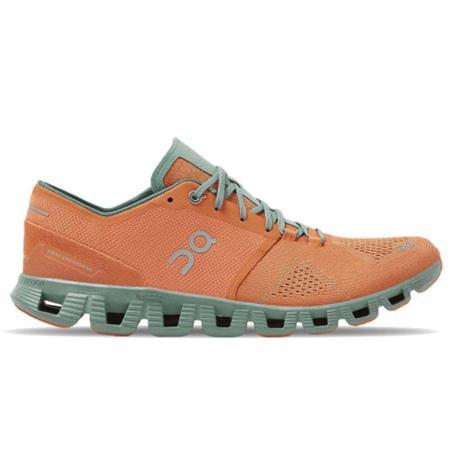 ON Running Cloud X Sneaker - Orange / Sea