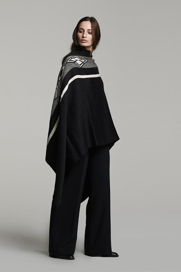 Diagonal Wrap - Black