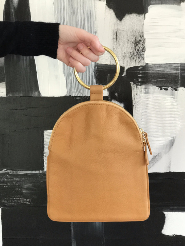 Otaat/Myers Collective Large Ring Pouch in Camel