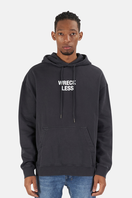 Ksubi Subculture Hoodie Sweater - Washed Black
