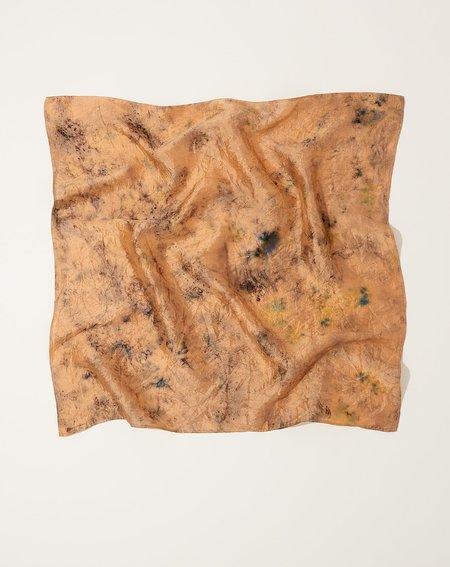 Soil to Studio Silk Bandana - Dhalia