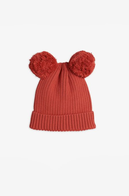Kids Mini Rodini Ear Hat - Red