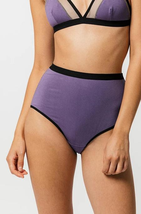 Mary Young Lux High Waist Brief - Izmir