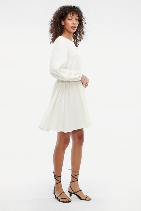 Lacausa Miro Dress - Oatmilk