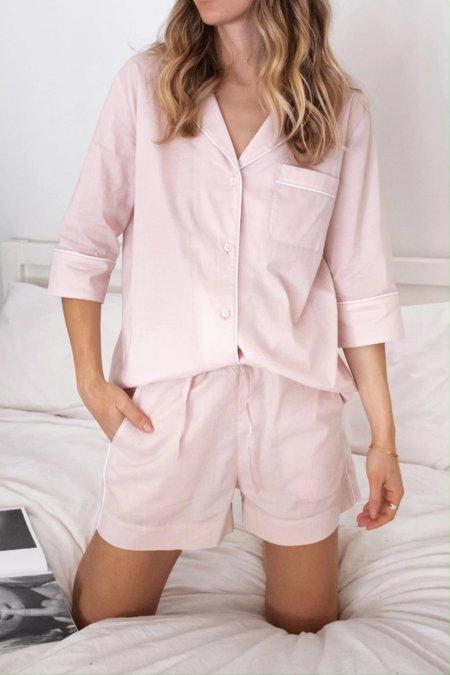 Laing Home Billie Cotton Pyjama Set - Blush Pink