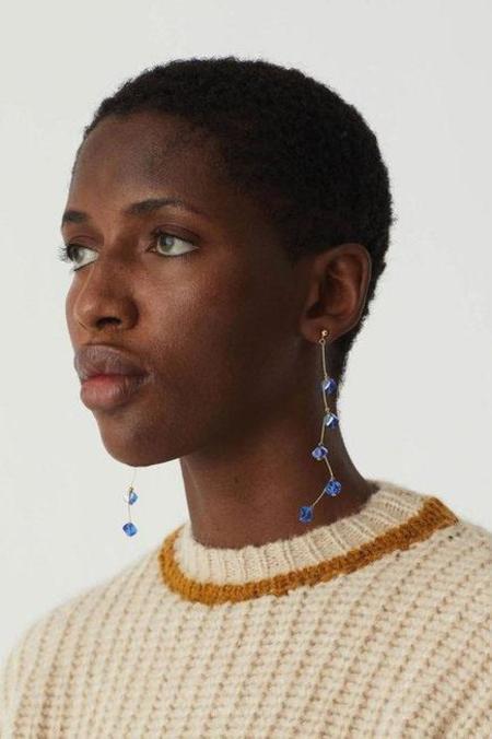 Paloma Wool Dominica Earrings - Medium Blue