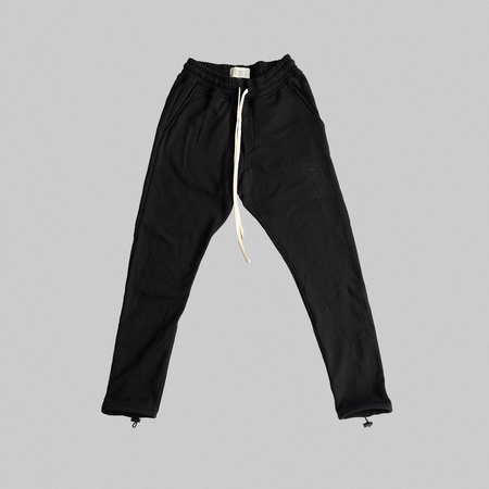 Reborn Garments Adjustable Sweatpant - Black