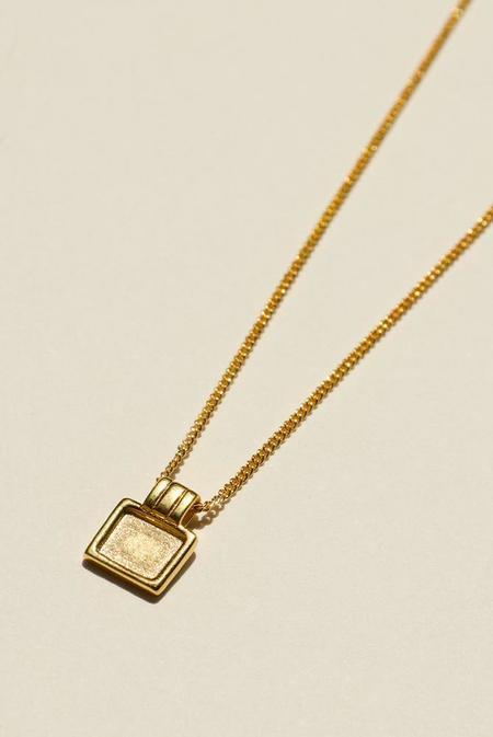 BRIE LEON Square Pendant Necklace