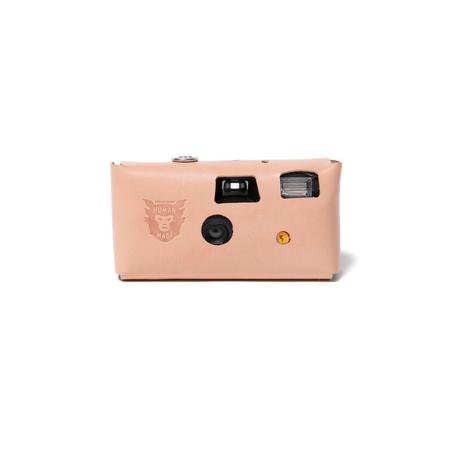 Human Made Leather Camera Case #K - Beige