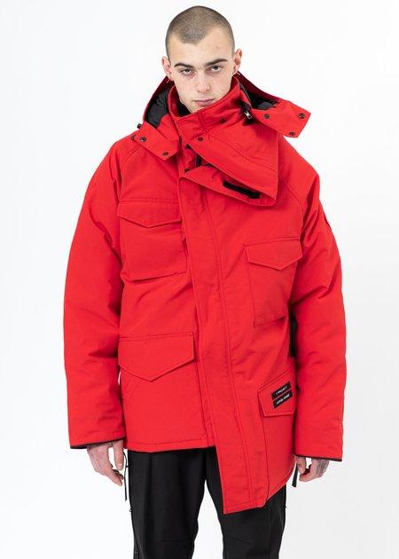 Y/project Canada Goose Edition Down Constable Parka - Red