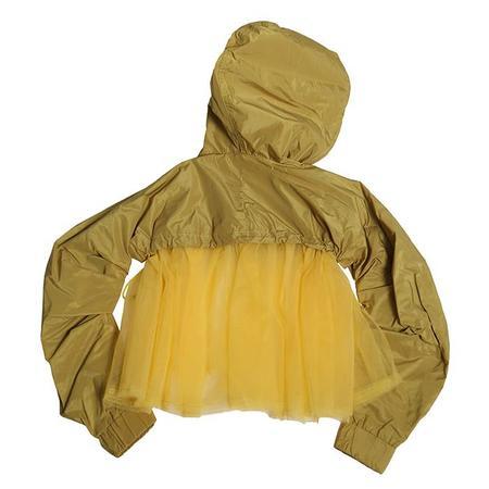 Kids Tia Cibani Margaretha Tulle Sweatshirt - Ginger Yellow