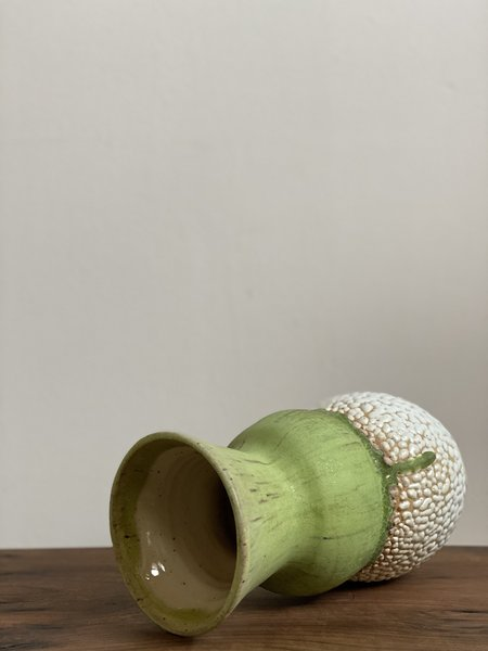 Raina Lee Oedipa Vase - Limeaid Kaolin