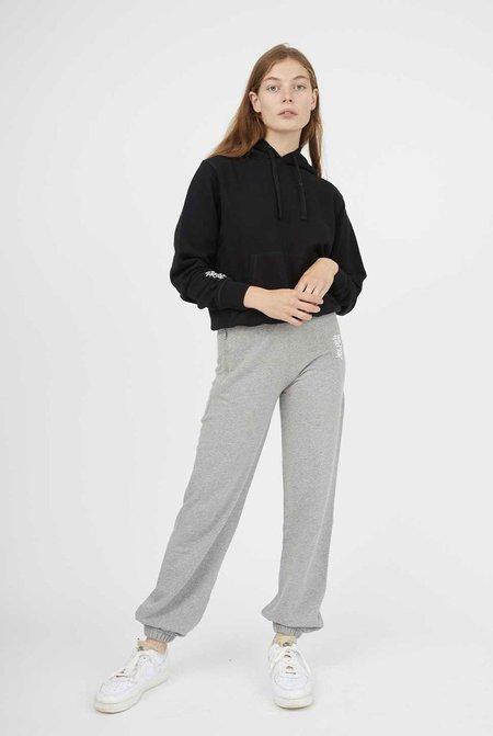 les girls les boys regular track pants - grey