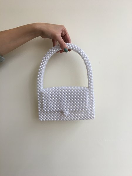 By Winifred Bree bag - White