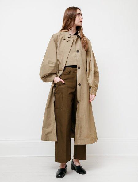 Studio Nicholson Tadao Coat - Almond