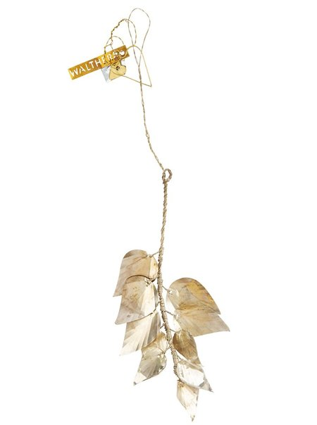 Walther & Co Hanging Leaves - Silver