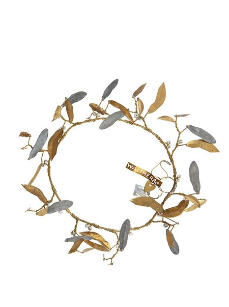 Walther & Co Mistletoe Wreath - Metal