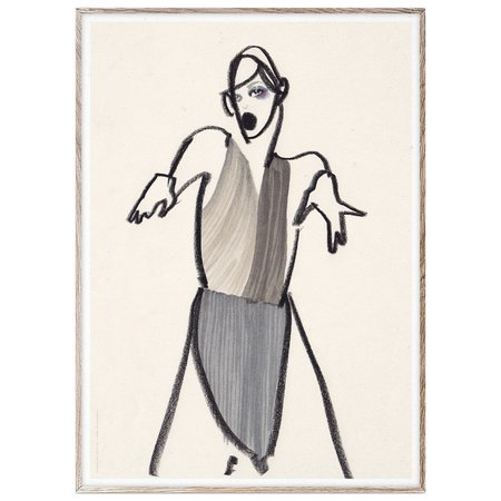 Paper Collective x Amelie Hegardt Dancer 03 Print