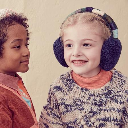 Tia Cibani Kids Bungie Roped Ear Muffs