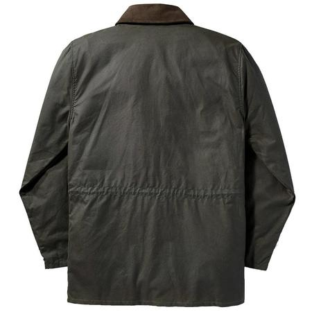 Filson Cover Cloth Mile Marker Coat - OTTER GREEN