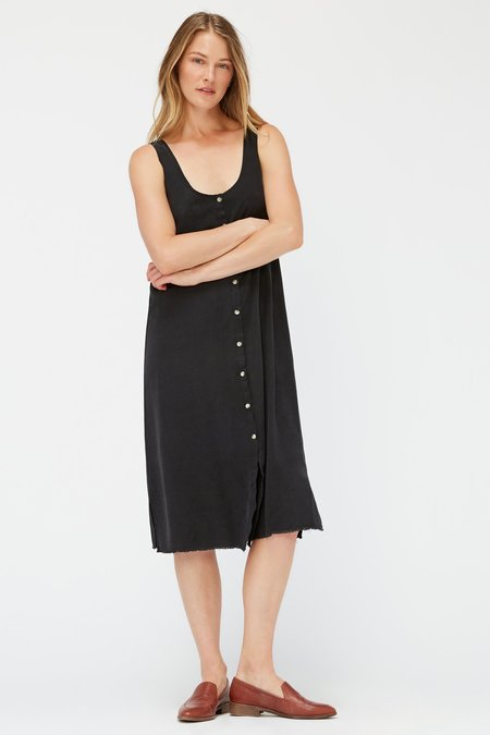 Lacausa Reversible Silk Dress - Tar
