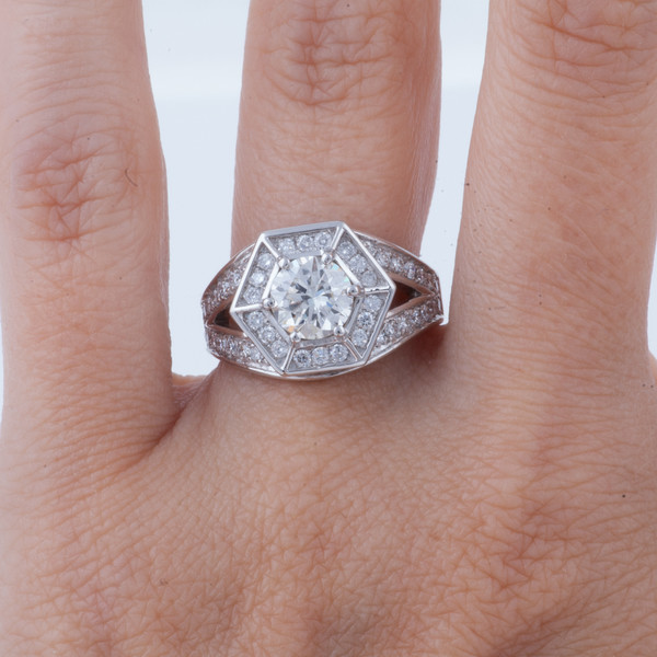 Shahla Karimi CUSTOM Marry Me Honey Engagement Ring