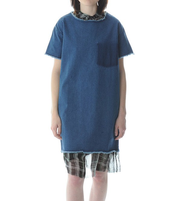 Won Hundred Blue Denim Dress