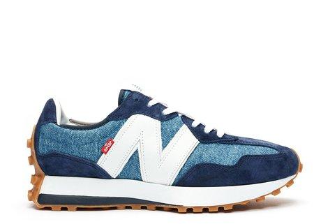 New Balance 327 Sneaker - Navy/Grey