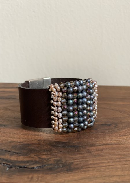 Martell Natural Pearl Gem Cuff